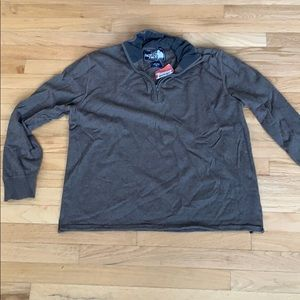 Quarter zip sweater the north face